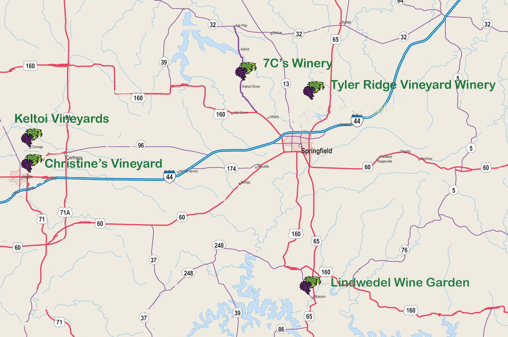 Ozark Mountain Wine Trail
